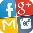 My Log In! Social Network Manager for facebook, twitter, google ...