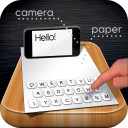 Paper Keyboard - Fast typing and playing with a printed keyboard
