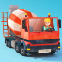 Kleine Bauarbeiter - Bagger, Laster und Kran für Kinder