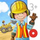 Meine Bauarbeiter - Bagger, Kran und Kipplaster für Kinder!