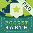 Pocket Earth PRO Offline Maps - GPS Navigation Map & Travel Guide