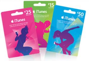iTunes Karte 320