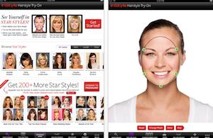 Frisuren testen online kostenlos frisurentester eigenen bild