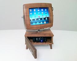 v luxe macht ipad zum retro fernseher video itopnews. Black Bedroom Furniture Sets. Home Design Ideas