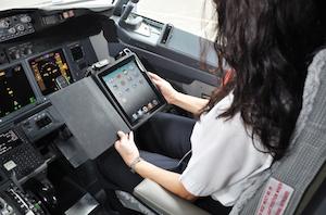 iPad Flugzeug 300