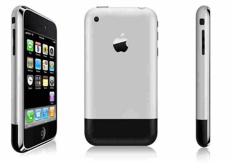 Ansicht erstes iPhone