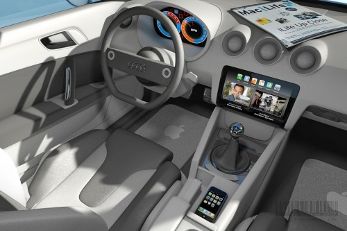 Apple Designs iCar Audi