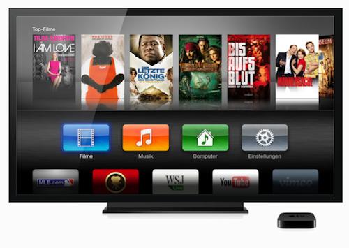 Apple TV3 neue Ansicht Bildschirm