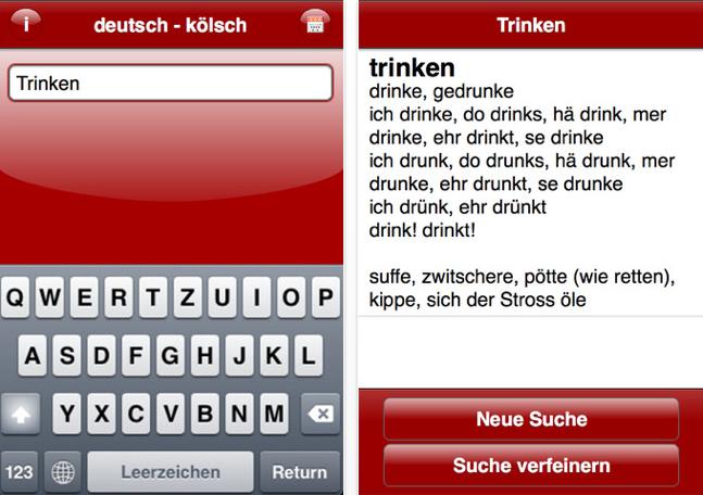 Kölsch Deutsch Wörterbuch