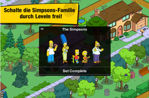 Simpsons Springfield Ansicht