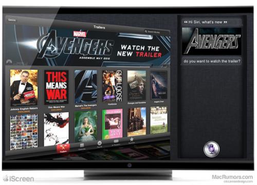 Apple iTV IScreen Fernseher 1