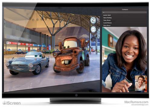 Apple iTV IScreen Fernseher 2