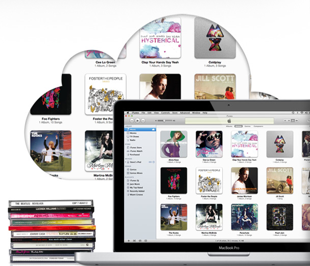 iTunes Match Ansicht Apple