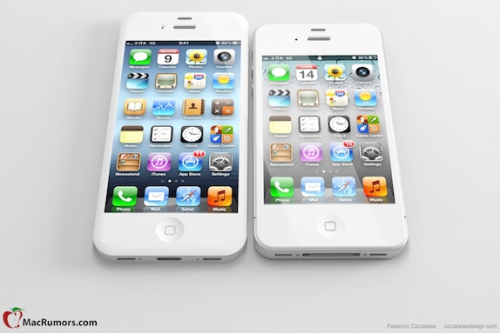 iPhone Mockup kleines und grosses Display