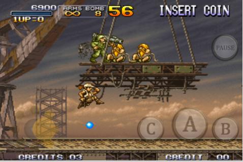 Metal Slug 3 Szene