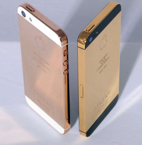 iPhone 5 in Gold