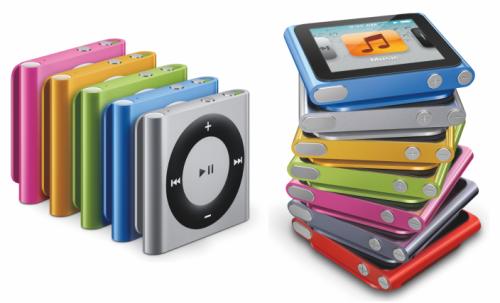 iPod shuffle iPod Nano