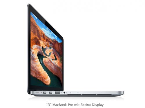 Retina MacBook Pro 13 Zoll