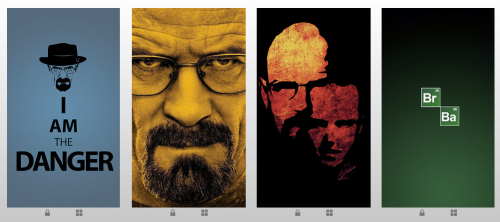 iPhone 5 Wallpapers TV-Serie Breaking Bad