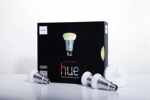 Smartphone gesteuertes Licht exklusiv in Apple Stores erhältlich