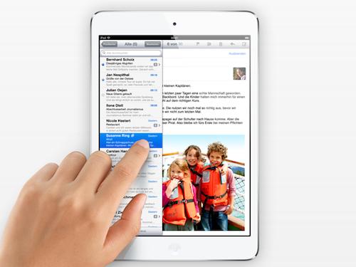 iPad Mini Benutzung
