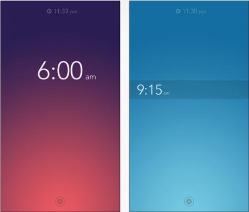 Rise Alarm Clock iPhone Screenshot