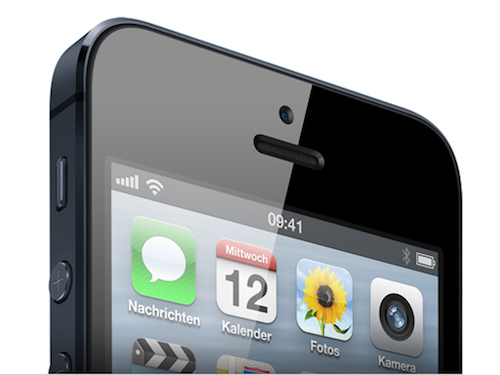 iPhone 5 Vorderansicht