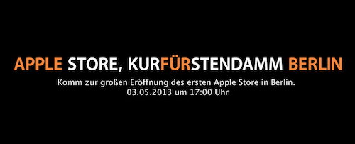 berliner apple store ffnet am 3 mai alle infos itopnews. Black Bedroom Furniture Sets. Home Design Ideas