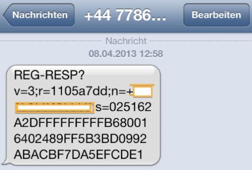 iMessage Spam 1
