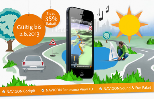 gratis navi app fur iphone 5