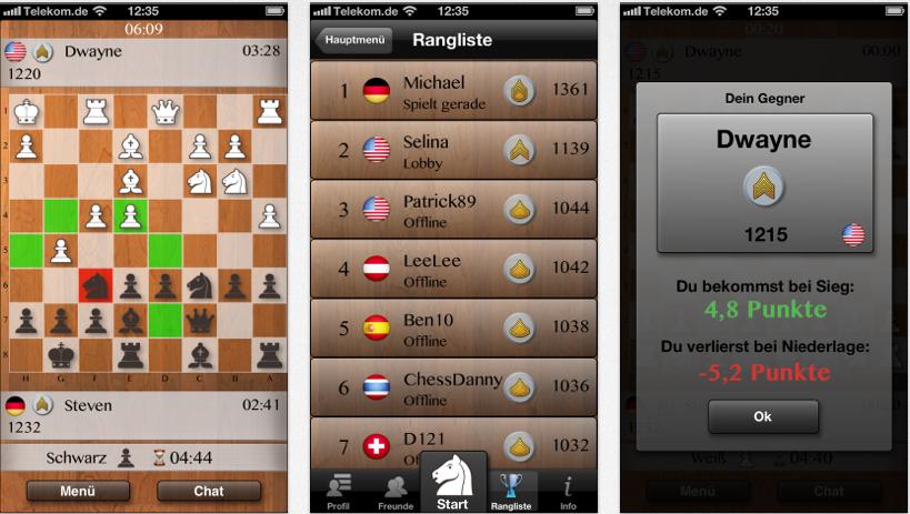 online multiplayer schach