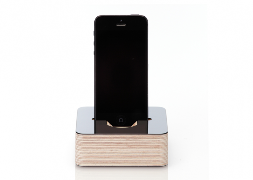 germanmade iPhone 5 Dock schwarz