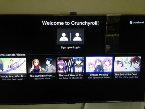 Apple TV neu Crunchyroll