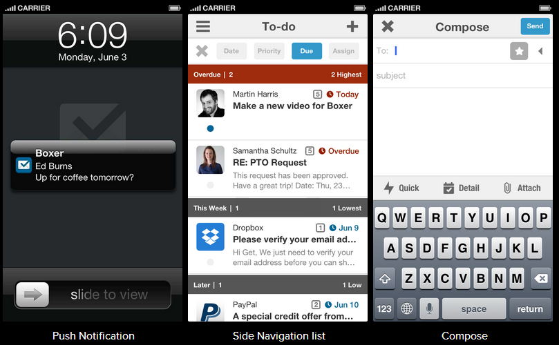 App des Tages: Boxer, die neue iOS-Mail-App [VIDEO] | iTopnews