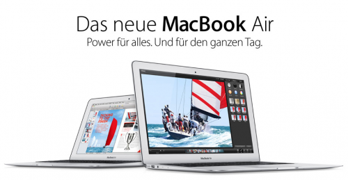 MacBook Air neu im Store
