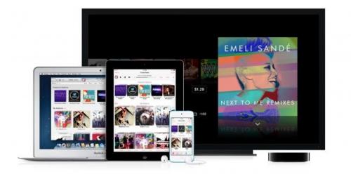 Musik App auf iOS 7 iPad