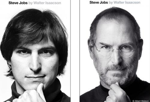 Neues Cover Taschenbuch Steve Jobs