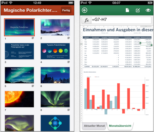 App des Tages: Microsoft Office Mobile fürs iPhone