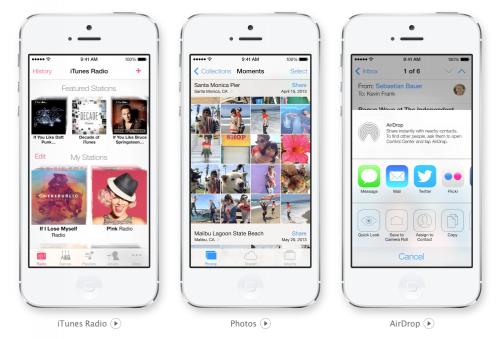 iOS 7 Bilder 2