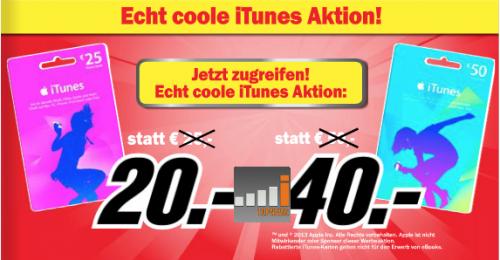 iTunes Rabatt Karte Media Markt Oesterreich 29 07