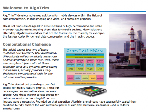 Algotrim Homepage