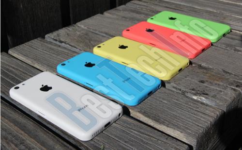 Besttechinfo iPhone 5C Farben