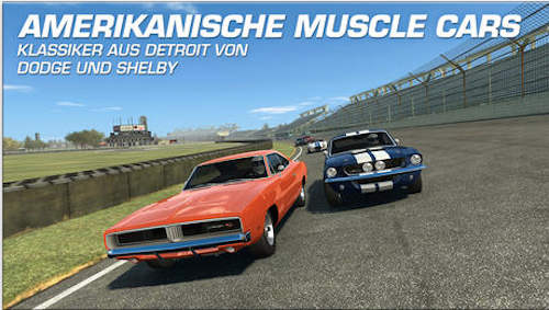 Real Racing 3 Muscle Car