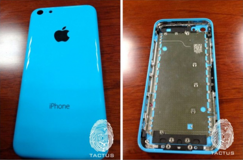 Tactus iPhone 5C blau
