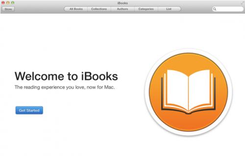 iBooks Mac 1