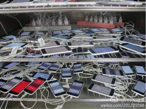 iPhone 5C Testreihe weibo.com nowherelse.fr