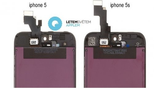 iPhone 5S Letem Svetem Applem
