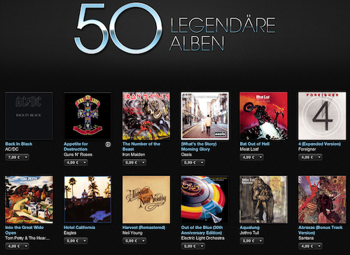 iTunes Classic Rock