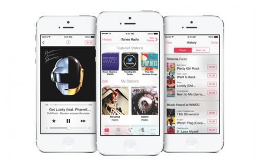 iTunes Radio Ansicht