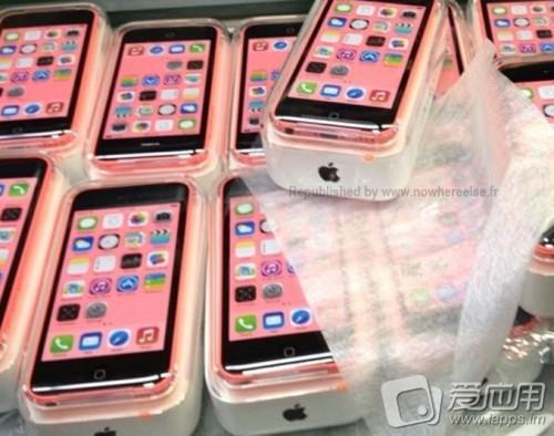 iphone 5c in Verpackung